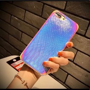 Iridescent / Holographic Snakeskin iPhone XR Case